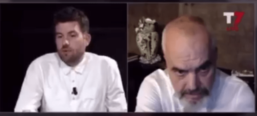 Albanian Prime Minister Insults Kosovo Activist Who Confronted Him over Corruption and National Theatre