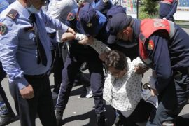 Albanian Ombudsman Says Actions by Police Against Protestors is Illegal and Unconstitutional