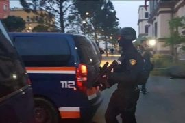 Albanian Interior Minister Denies Police had Guns, Defends Lack of Identification Badges