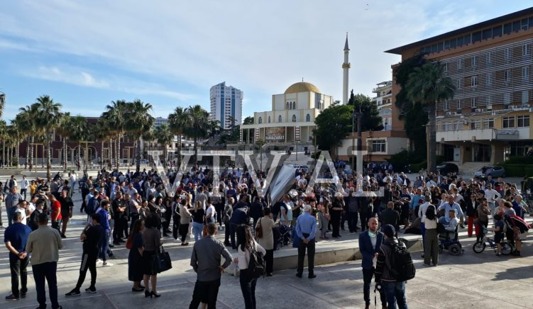 Police Charge Organisers of National Theatre Protest in Durres