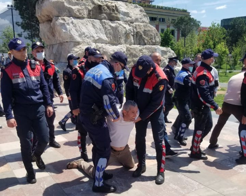"""Police File Charges Against Protestors Demonstrating Against """"Dictatorship"""" Imposed by Albanian Prime Minister"""