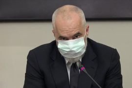 Albanian Prime Minister Bullies Journalist for Not Wearing a Mask
