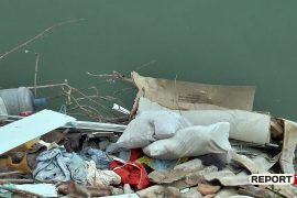 Hospital Waste Including Syringes Found in Albanian River