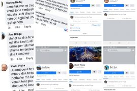 Fake Facebook Pages Voice Support for Edi Rama on Live Stream Videos