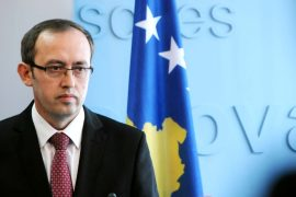 Kosovo's Outgoing PM Warns Reciprocity If Serbia Imposes Measures