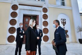 EU Delegation Meets Culture Minister to Discuss Restoration of Earthquake Damaged Culture Sites