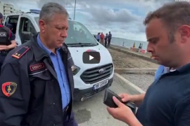 State Police Stop Journalist from Filming and Delete Footage of State Demolition of Coastal Properties