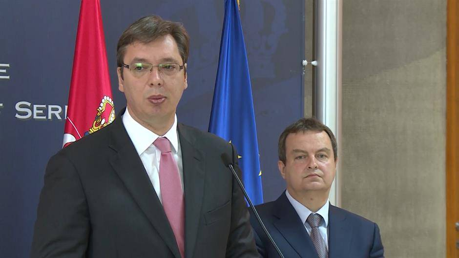 Vucic and Dacic Imply Dialogue Won't Result in Serbia's Recognition of Kosovo