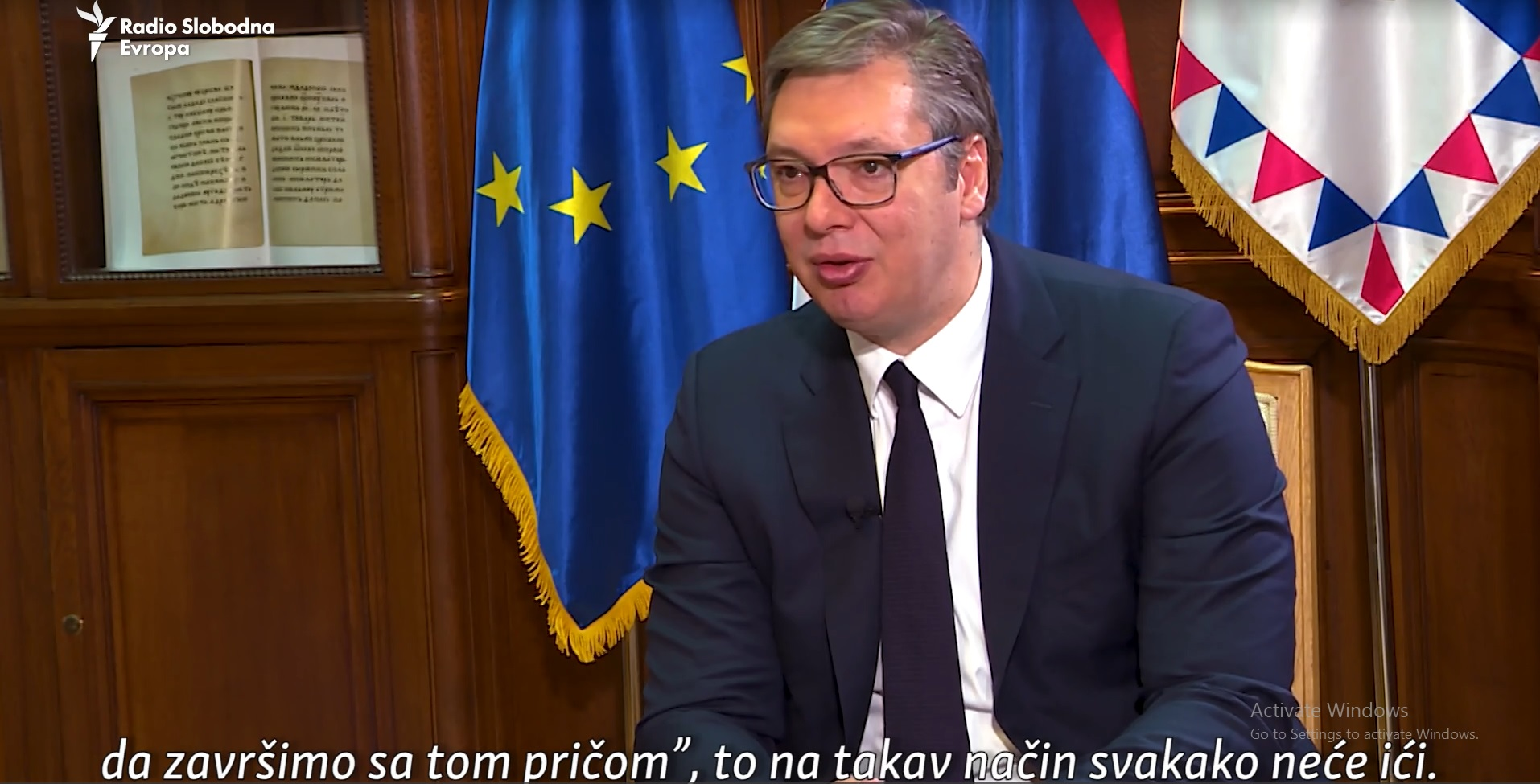 Serbian President Questions the Essence of Talks with Kosovo, Has No Proposals, No Deadlines