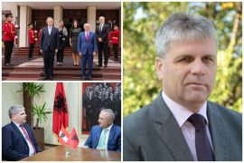 Albania's New Austrian Ambassador Says 15 EC Conditions Need to Be Met Before EU Negotiations Start