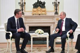 Vucic Updates Putin on the 'Kosovo Issue' after Meeting with Macron, Russia Promises 'Balanced Solution'