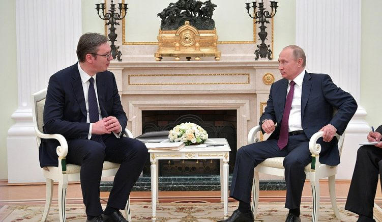 Putin Advises Vučić on Solutions regarding Kosovo during Moscow Visit