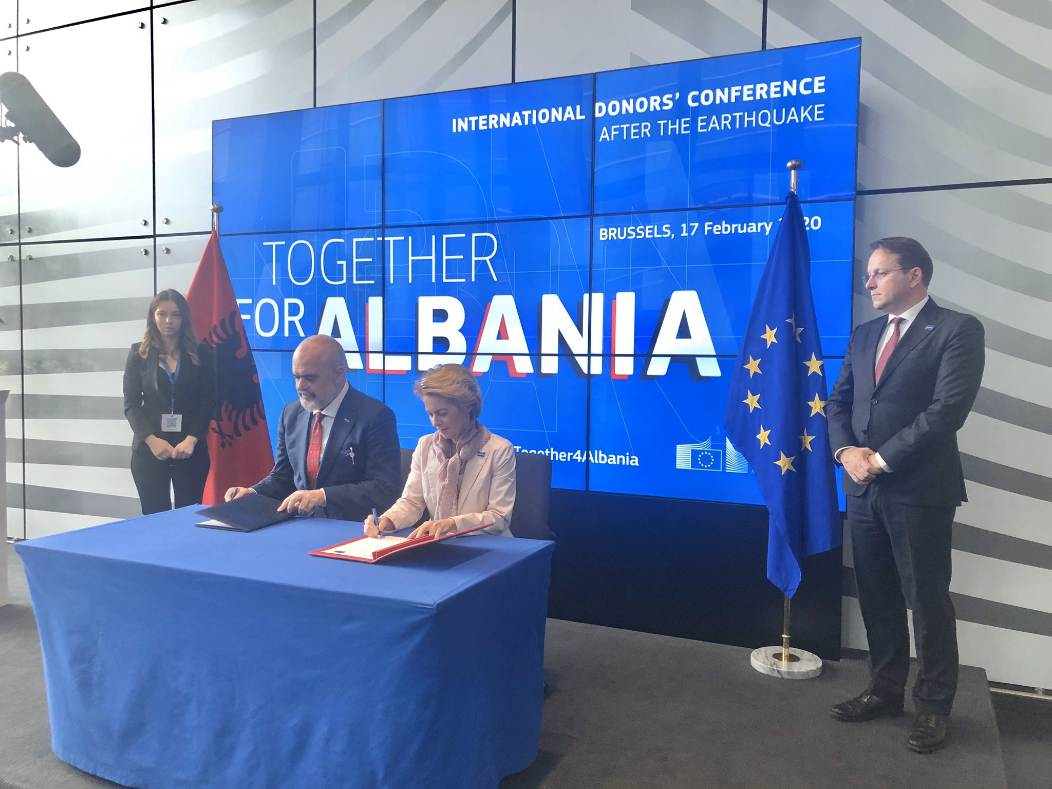 European Commission Approves €100 Million Package to Aid Albania's Post-Earthquake Reconstruction