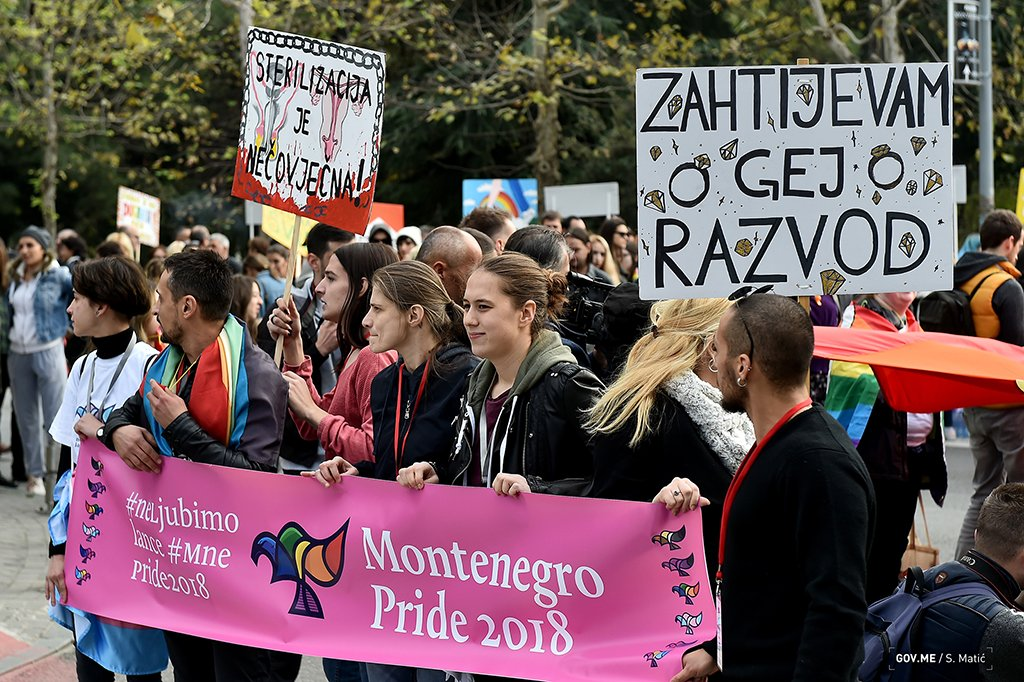 Montenegro Becomes First Western Balkans Country to Pass Law on Same-Sex Partnerships
