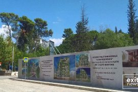 Construction of Another High Rise Building Starts in Tirana's Lake Park