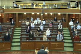 Serbian MPs Leave Kosovo Parliament during Moment of Silence for Srebrenica Genocide