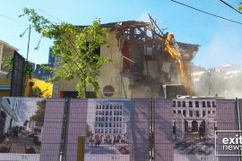 Historic Villa in Central Tirana Demolished to Make Way for Towerblock