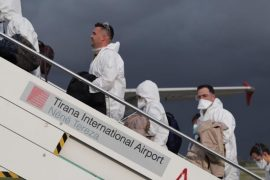 Italy Sends Team of Medical Experts to Aid Albania's Fight against Coronavirus
