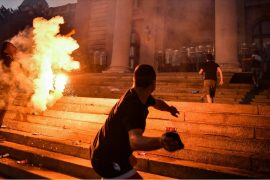 Serbian President Relents on Coronavirus Curfew Following Protests