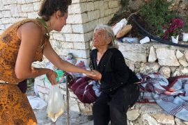 Elderly Woman Abandoned by Family Given Emergency Medical Treatment