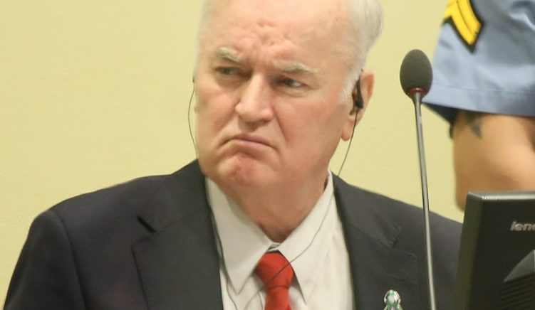 "The ""Bosnian Butcher"" Ratko Mladic to Face Appeals Court at The Hague Today"
