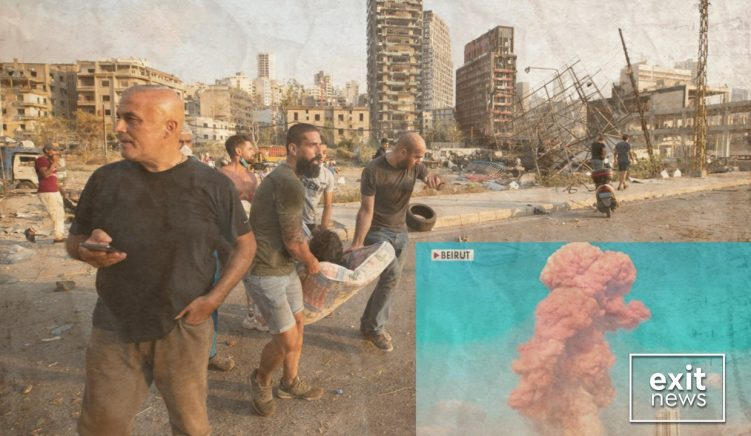 """Lebanese President and Prime Minister Were Warned That Chemicals Could """"Destroy the Capital"""" on 20 July"""