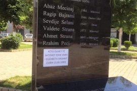 Mitrovica Municipality to Add Name of Roma Child to Massacre Memorial