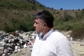 Manez Citizens Furious Over Waste Dumping and Burning in the Area