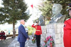 Naim, Sami, and Abdyl Frasheri Honoured by Albanian President