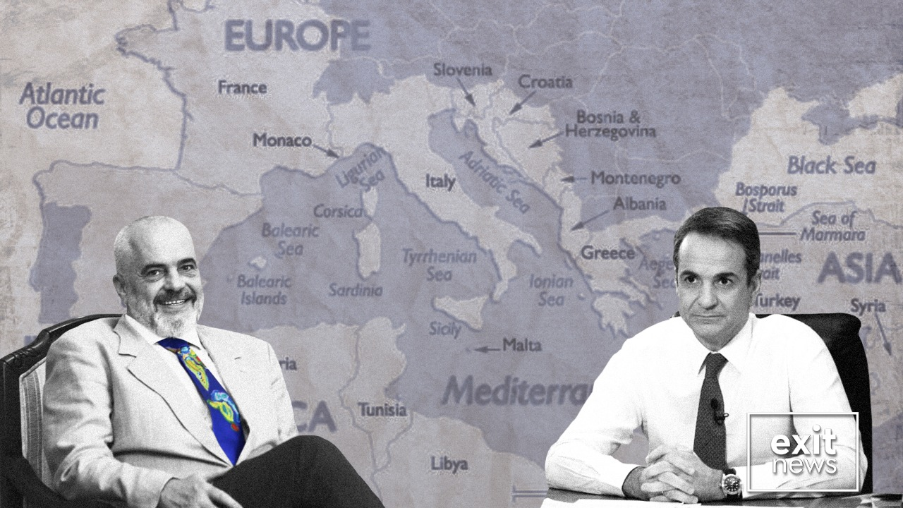 Prime Ministers of Albania, Greece to Discuss Maritime Delimitation Tonight