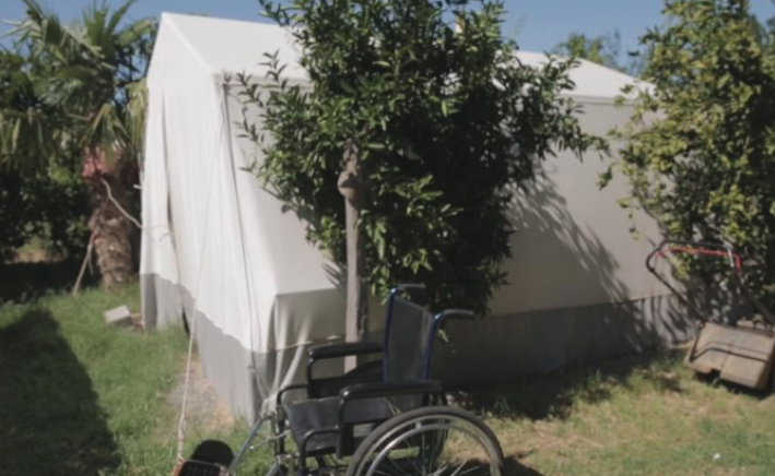 Earthquake Survivor Pleads for State Help After 10 Months of Living in a Tent and Container
