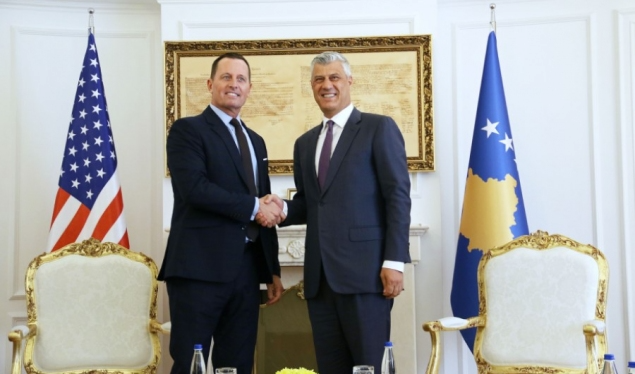 Thaçi Awards Grenell with Medal of Merits for Kosovo-Serbia Deal