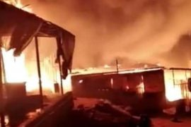 Huge Fire Engulfs Migrant Camp on Greek Island of Lesbos, 13,000 Left With no Shelter