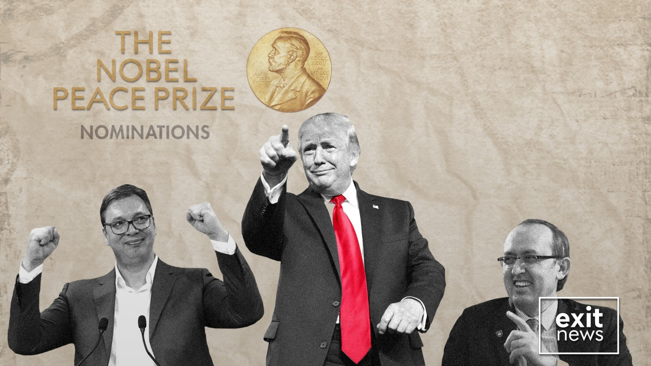 US, Kosovo, Serbia Administrations Nominated for Nobel Peace Prize