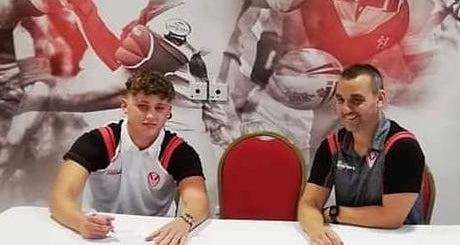 16-Year-Old Albanian Signs With Leading UK Rugby League Team