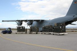 German Army Delivers Largest Aid in PPE to Kosovo and Montenegro