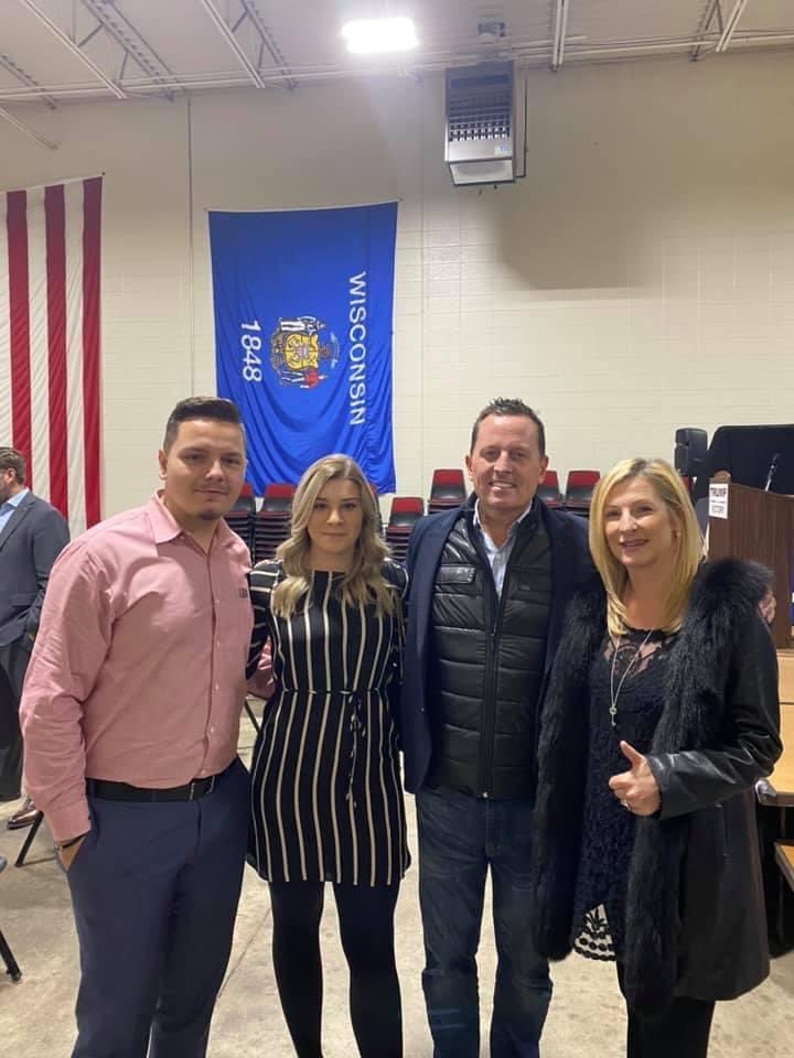 Grenell Meets Serb Trump's Supporters in US