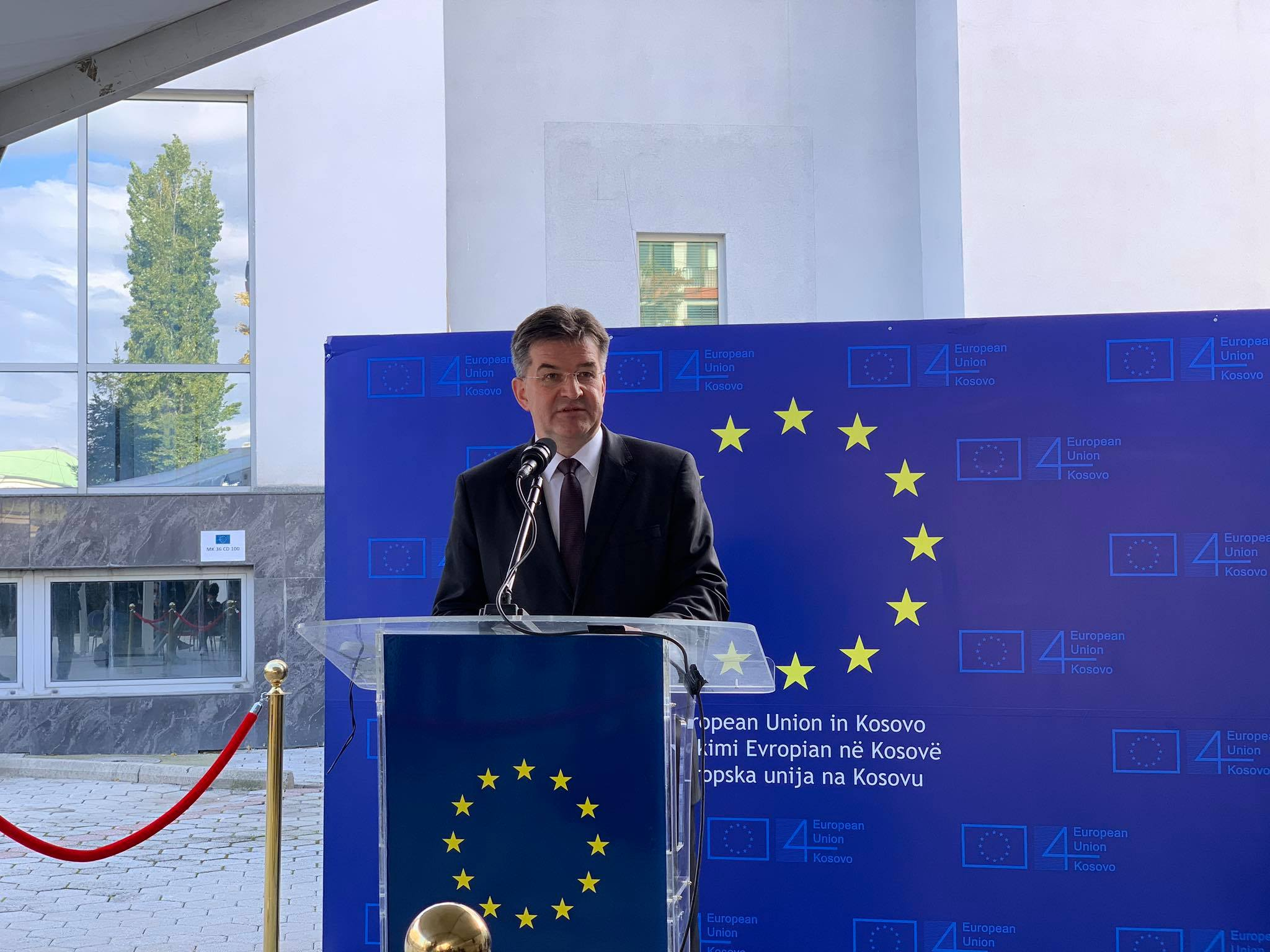 EU Envoy Lajcak Is 'Absolutely' Sure a Kosovo-Serbia Deal Is Possible