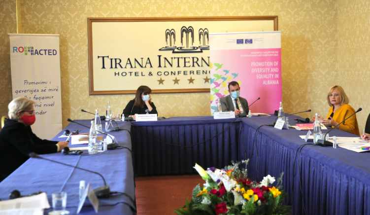 CoE Holds Anti-Racism and Discrimination Roundtable in Tirana