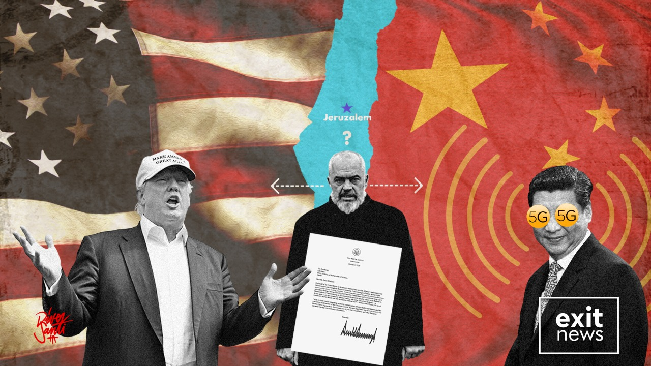 """Trump Congratulates Rama on his """"Leadership"""" and for Not Allowing Chinese 5G"""