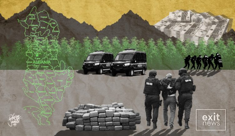 Albanian Drug Cultivation Decreases as Criminals Export Production to Europe and Beyond