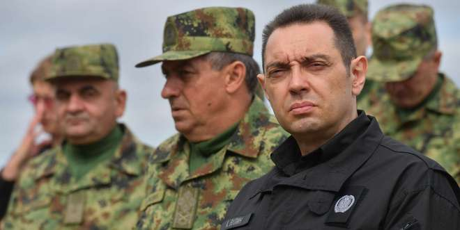 Serbian Minister of Defense Calls for 'Institutional Unification' of Balkan Serbs against 'Greater Albania'