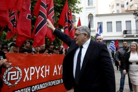 Six Greek Golden Dawn Party Leaders Sentenced to 13 Years in Prison Each