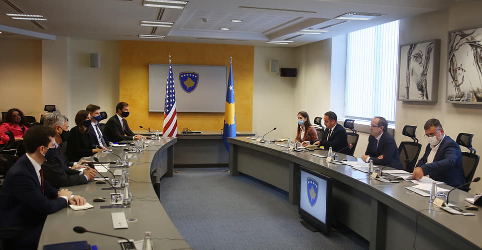 Kosovo Prime Minister and Senior US Official Discuss Implementation of Deal with Serbia