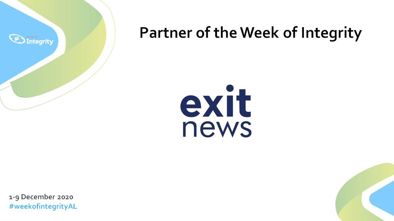 Exit News to Take Part in National Week of Integrity