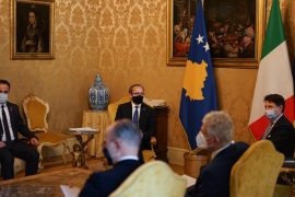 Kosovo Prime Minister Asks Italy's Support on Visa Liberalization during Rome Visit