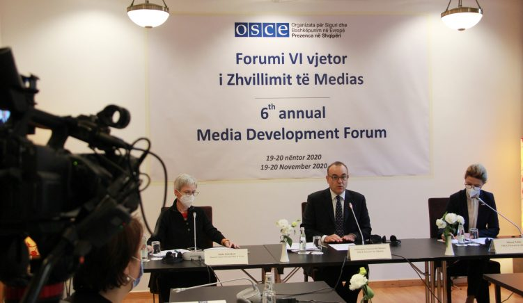 Day 1 OSCE Media Development Forum: COVID-19 and the Draft Media Law