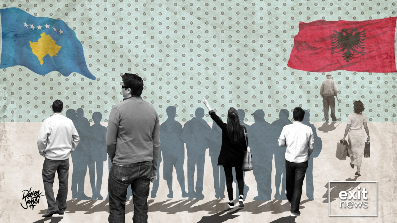 Between Two Flags; Kosovo Albanians Have Strong Feelings for Red and Black
