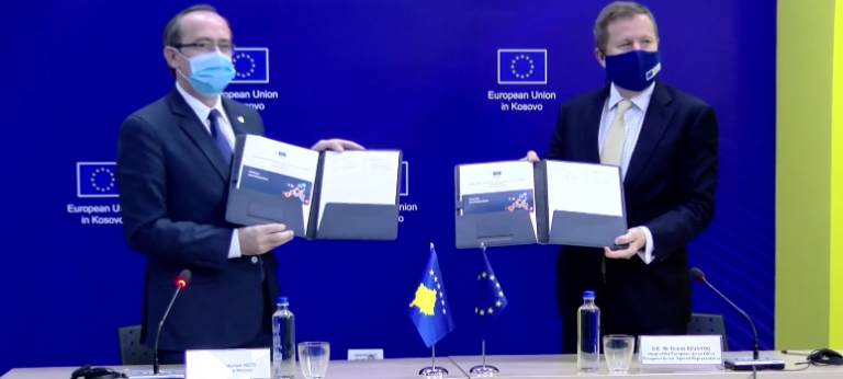 EU Supports Kosovo with €26.5 Million to Deal with Pandemic Impact