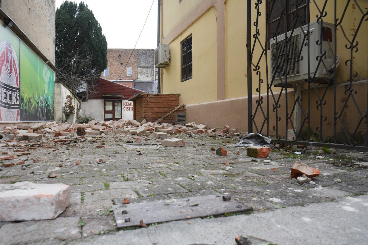 More quakes hit Croatia over the night and Thurs morning